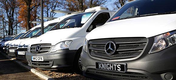 Knights Van Hire Fleet
