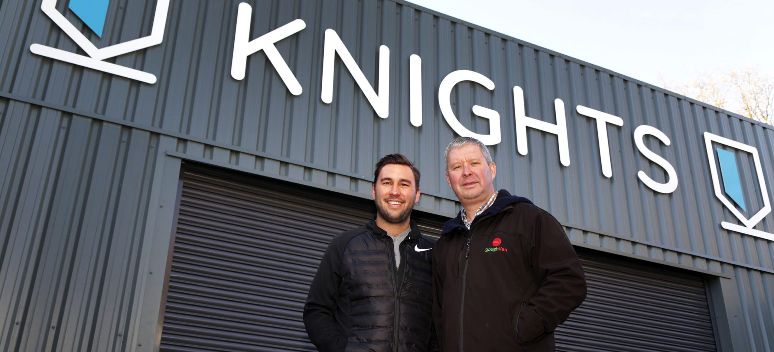 Charlie Willis and Mark of Knights Van Hire