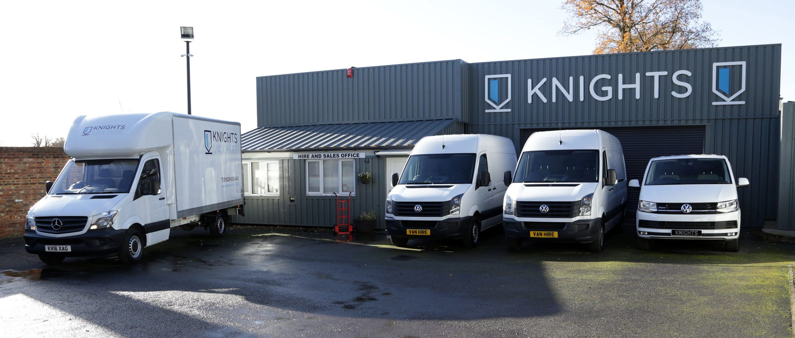 Knights Van Hire Sales and Hire Office